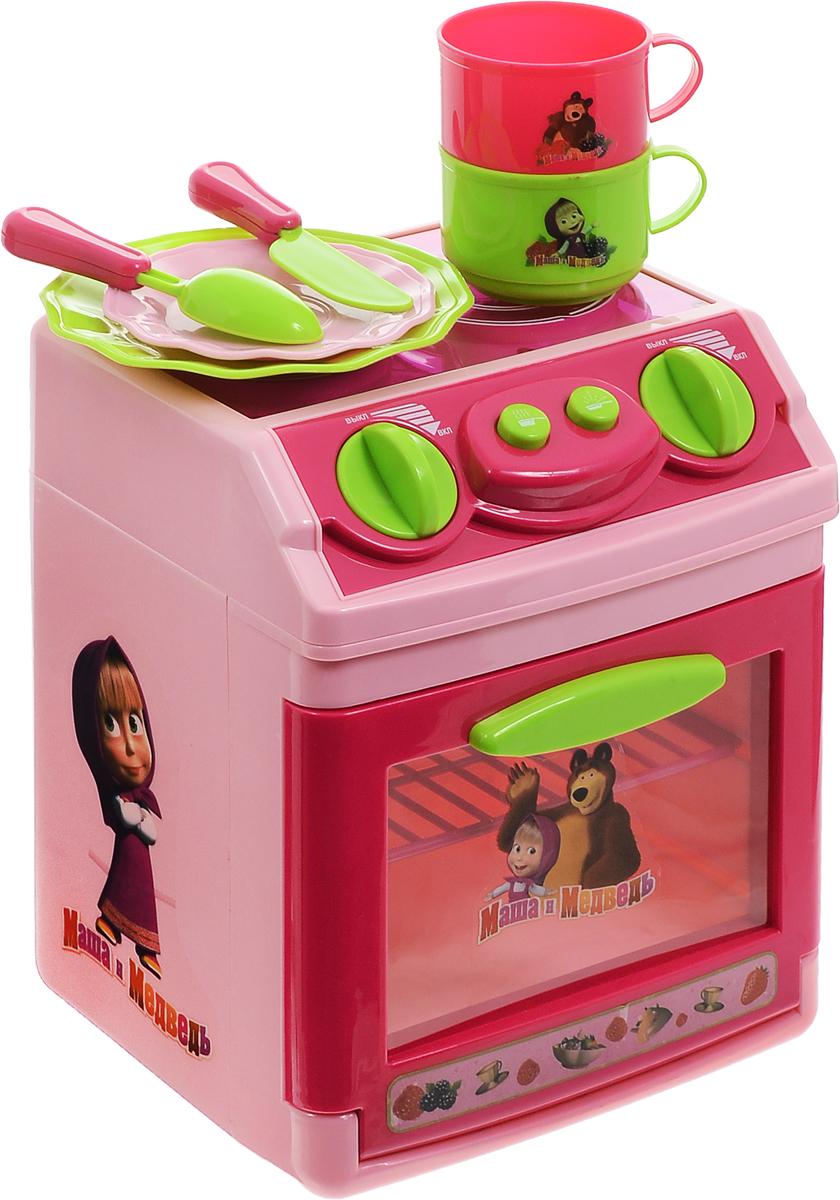 Играем вместе Игрушечная плита Маша и МедведьB1075995-RЯркая и красочная детская плита Играем вместе Маша и Медведь с изображением персонажей известного мультфильма отлично подходит для организации маленькой кухни и хорошо сочетается со многими другими игрушками. Встроенные световые и звуковые эффекты добавляют плите сходства с настоящей бытовой техникой, способствуя освоению правил обращения с духовкой. С помощью этой плиты ваша малышка приготовит много вкусных блюд своим любимым куклам. Плита так похожа на настоящую! Ручки-переключатели поворачиваются, кнопки нажимаются, дверца духовки открывается. Помимо самой плиты, в комплект также входит набор посуды: 2 тарелки, 2 чашки, ложка, вилка. Для работы игрушки необходимы 3 батарейки типа АА напряжением 1,5V (не входят в комплект).