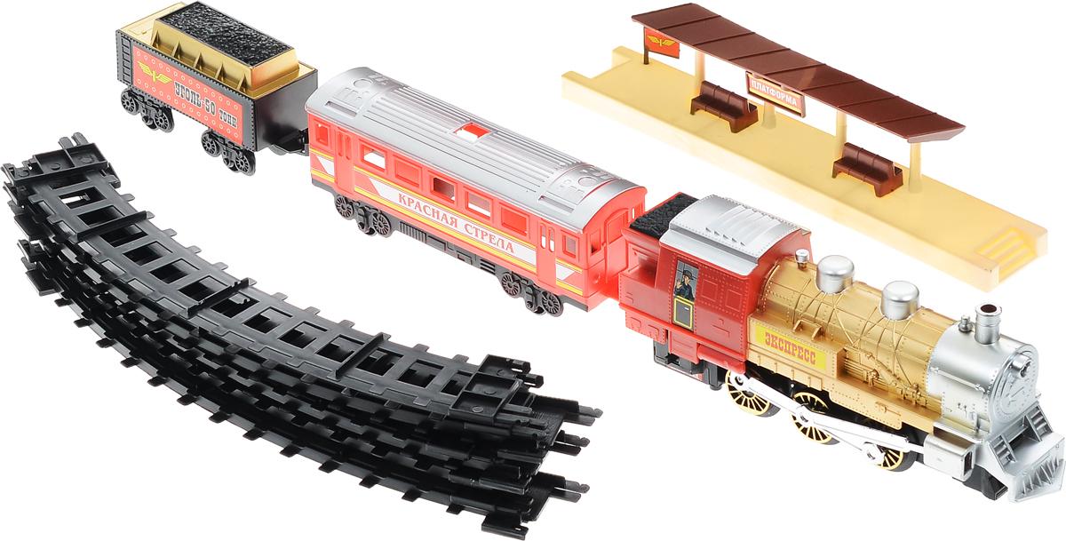 Играем вместе Железная дорога Красная стрела с дымом A144-H06049-R1