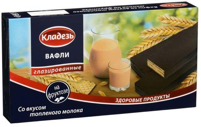 Кладезь вафли со вкусом топленого молока,150 г