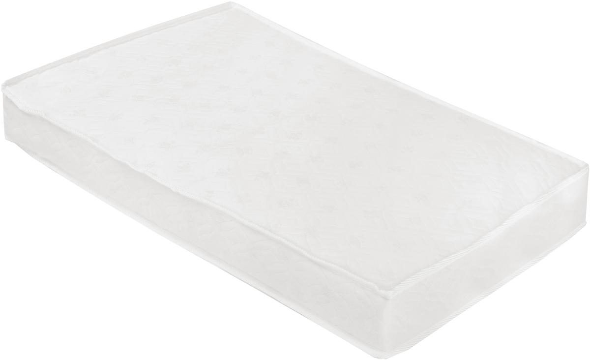 Sweet Baby Матрас в кроватку Latex DeLuxeLATEX DeLuxe (119х59х12)Матрас в кроватку Sweet Baby Latex DeLuxe великолепно подойдет для вашего малыша. Ортопедический, гипоаллергенный, повторяет все изгибы тела и обеспечивает спокойный сон. Эта модель состоит из натурального латекса, кокосовой койры, нетканого волокна холлкон и съемного чехла из жаккарда. Натуральный латекс, который используется в изготовлении данной линии матрасов, признан одним из самых чистых и 100% не вызывающих аллергию или раздражения. Этот материал прекрасно дышит благодаря своей губчатой структуре и в тоже время не впитывает запахи и обладает водоотталкивающим свойством. Отличная упругость и качество позволяет гарантировать долгий срок службы и комфортный сон. Самый популярный наполнитель на данный момент благодаря своей натуральности и прочности - кокосовая койра. Она признана экологически чистой и абсолютно безопасной. Кроме всего прочего, этот материал наделен бактерицидными свойствами. Также не впитывает жидкость и не хранит запахи, что является весомым аргументом...