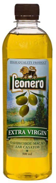 Leonero масло оливковое нерафинированное extra virgin, 500 мл