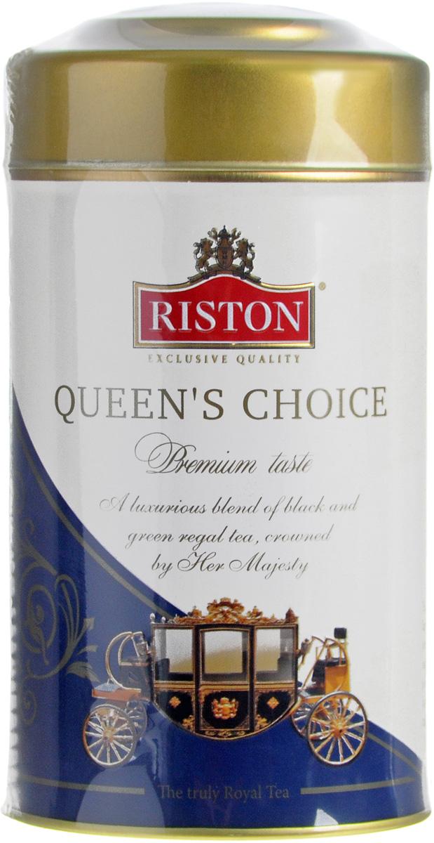 Riston Квин Чойс черный листовой чай стандарта FBOP, 125 г 4792156001357