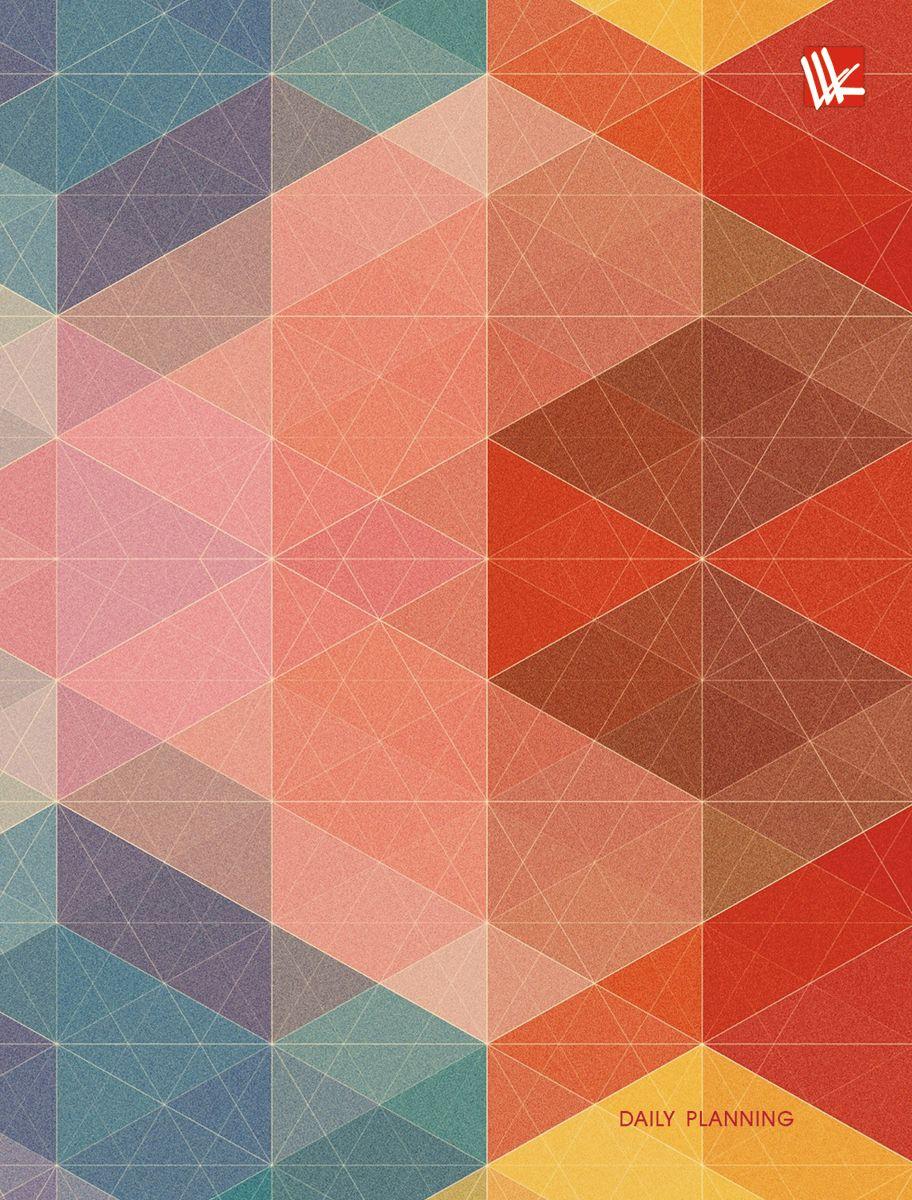 Канц-Эксмо Ежедневник Оттенки недатированный 112 листов формат А6 ЕЖ17611204