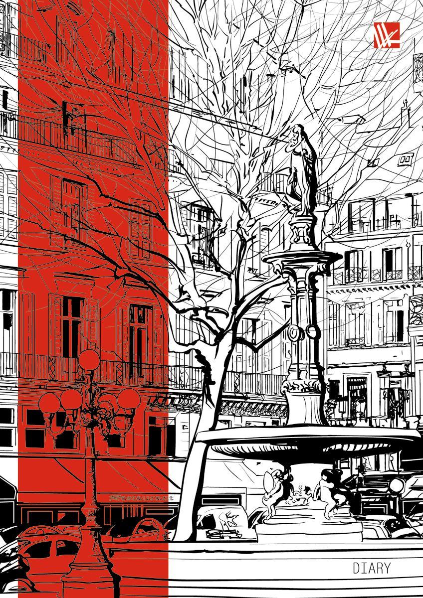 Канц-Эксмо Ежедневник Городской стиль Графика недатированный 128 листов формат А6+ЕЖ17612806Ежедневник недатированный в твердой обложке формата А6+, 128 листов. Обложка с отделкой мокрый шелк. Форзацы двухсторонние тонированные. Бумага офсет 70 г/м2, белая, однокрасочная печать.