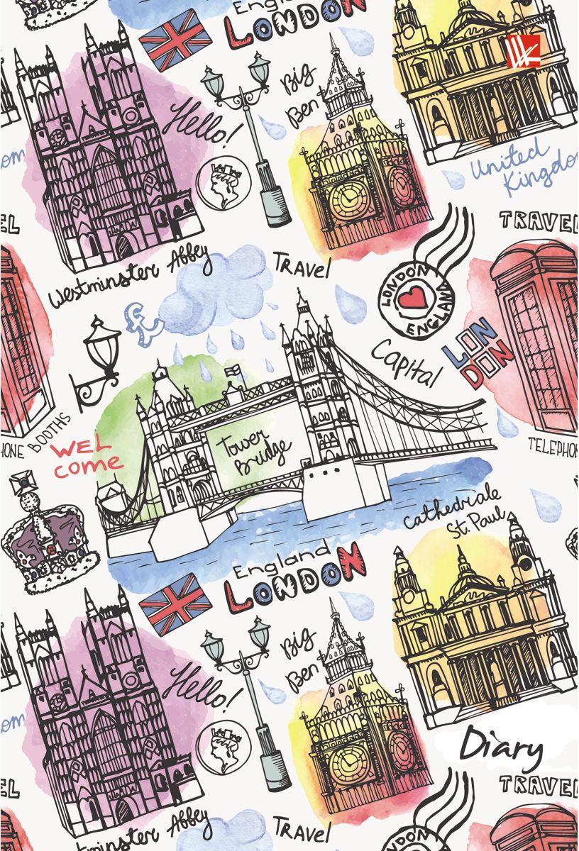 Канц-Эксмо Ежедневник Графика Путешествие по Лондону недатированный 112 листовЕЖБ17511206Ежедневник Графика. Путешествие по Лондону недатированный в твердой обложке с поролоном и блестками формата А5-. Ежедневник содержит 112 листов с цветными форзацами. Ежедневник содержит блоки четырех цветов и ляссе.