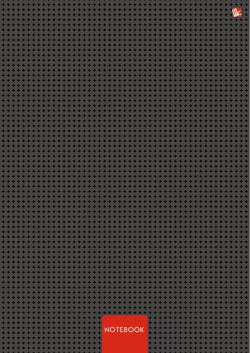 Канц-Эксмо Записная книжка Офисный стиль Минимализм 80 листов в клеткуКЗ4801919Записная книжка в твердом переплете А4, 80 листов. Обложка с глянцевой ламинацией. Бумага – офсет 60 г/м2, белая, клетка. Сшитый блок.