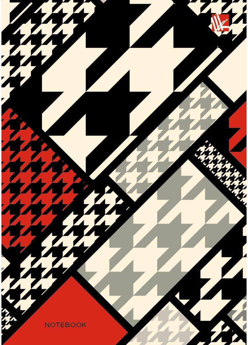 Канц-Эксмо Записная книжка Офисный стиль Пестрый коллаж 80 листов в клеткуКЗ6802147Записная книжка в твердом переплете А6, 80 листов. Обложка с глянцевой ламинацией. Форзацы белые. Бумага – офсет 60 г/м2, клетка. Сшитый блок.
