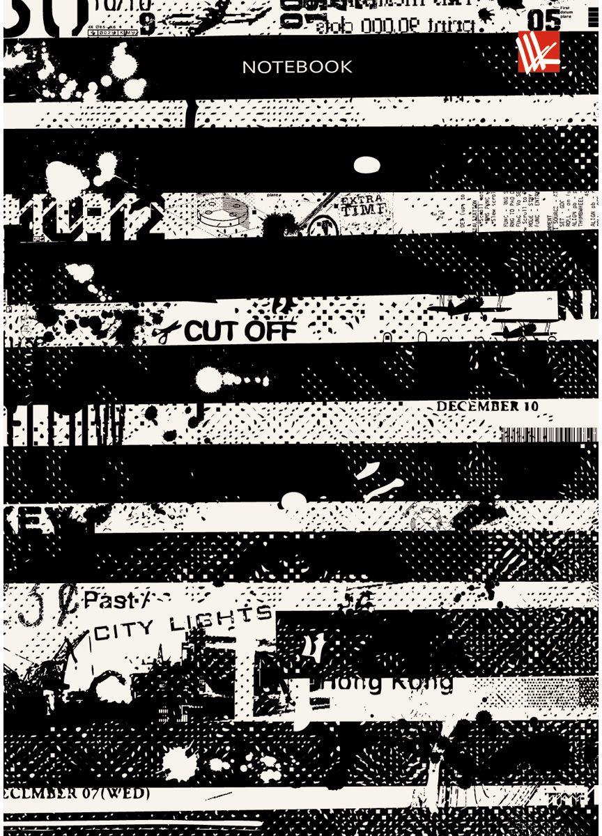 Канц-Эксмо Записная книжка Графика Первая полоса 80 листов в клетку