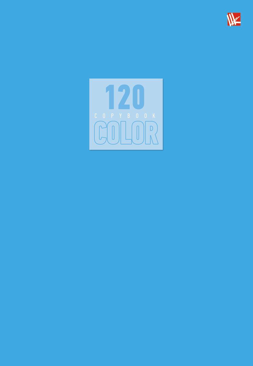 Канц-Эксмо Тетрадь Стиль и цвет 120 листов в клетку цвет голубой Т51205171Т51205171Тетрадь А5- 120 листов на швейно-клеевом креплении, клетка. Обложка мелованный картон повышенного качества, матовая ламинация. Бумага офсет 60г/м2
