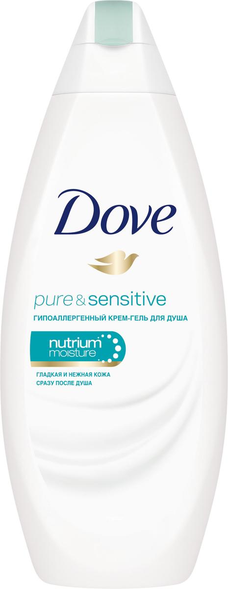 Dove Крем-гель для душа для чувствительной кожи Гипоаллергенный 250 мл