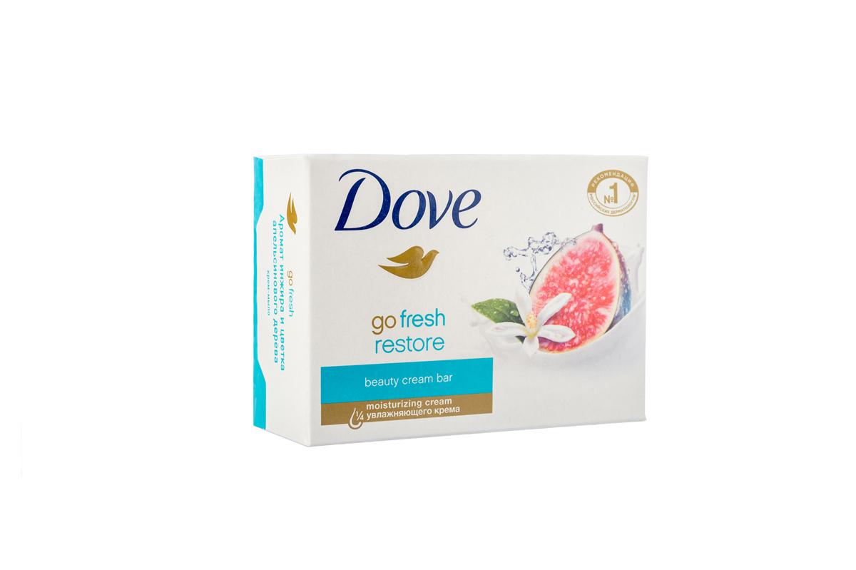 Dove Крем-мыло Инжир и лепестки апельсина 135 гр