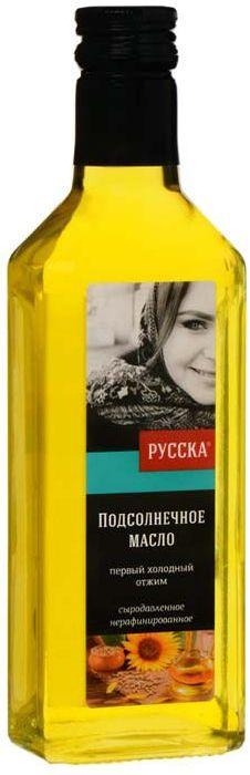 Русска масло подсолнечное сыродавленное, 250 г