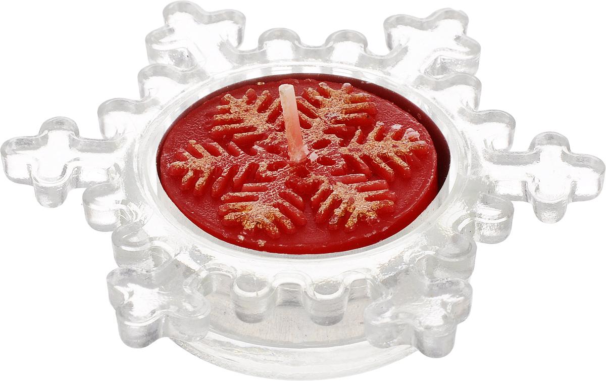 Подсвечник декоративный Lillo, со свечойLil 88014Декоративный подсвечник Lillo, изготовленный из стекла, выполнен в виде снежинки. В комплекте предусмотрена чайная свеча, обладающая приятным ароматом. Оба предмета упакованы в красивую подарочную упаковку. Вы можете поставить подсвечник в любом месте, где он будет удачно смотреться, и радовать глаз. Кроме того - это отличный вариант подарка для ваших близких и друзей в преддверии Нового года. Размеры подсвечника: 8 х 8 х 2 см. Размеры свечи: 3,5 х 3,5 х 1,5 см.