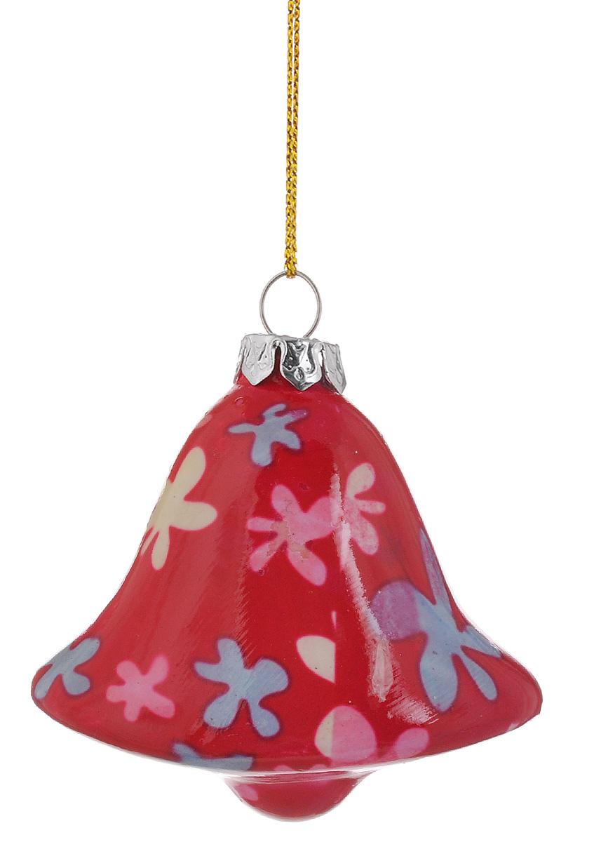 Украшение новогоднее подвесное Lillo Колокольчик, высота 7 смGL211011-2.5Н_белый колокольчикНовогоднее подвесное украшение Lillo Колокольчик выполнено из керамики в форме колокольчика. С помощью специальной петельки украшение можно повесить в любом понравившемся вам месте. Но, конечно, удачнее всего оно будет смотреться на праздничной елке. Елочная игрушка - символ Нового года. Она несет в себе волшебство и красоту праздника. Создайте в своем доме атмосферу веселья и радости, украшая новогоднюю елку нарядными игрушками, которые будут из года в год накапливать теплоту воспоминаний.