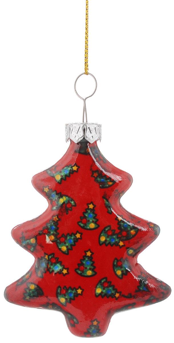 Украшение новогоднее подвесное Lillo Елочка, высота 6 смGL211011-2.5Н_белый с разноцветными бабочкамиНовогоднее подвесное украшение Lillo Елочка выполнено из керамики в форме кубика. С помощью специальной петельки украшение можно повесить в любом понравившемся вам месте. Но, конечно, удачнее всего оно будет смотреться на праздничной елке. Елочная игрушка - символ Нового года. Она несет в себе волшебство и красоту праздника. Создайте в своем доме атмосферу веселья и радости, украшая новогоднюю елку нарядными игрушками, которые будут из года в год накапливать теплоту воспоминаний.
