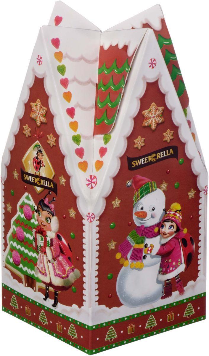 Sweeterella пряники заварные с начинкой глазированные, 300 гибж001Упаковка в форме сказочного пряничного домик с глазированными пряниками внутри! Рождественские пряники уже стали традицией и символом новогодних праздников! Поэтому, красивая упаковка с пряниками может стать в это рождество не только вкусным лакомством к чаю, но и украшением праздничного стола и оригинальным подарком! Состав: Пряники заварные глазированные с фруктовой начинкой Клюква и с начинкой Вареное сгущенное молоко.