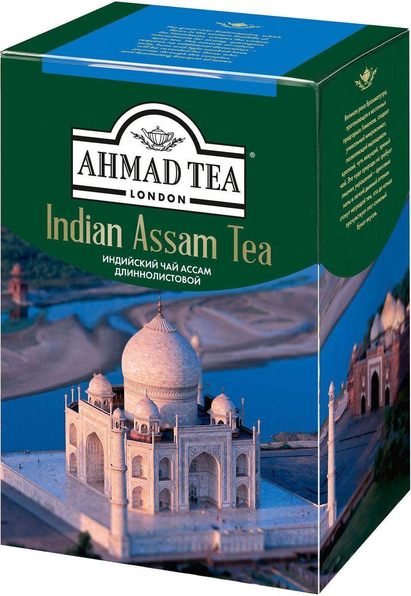 Ahmad Tea Indian Assam чай черный листовой, 200 г1628Великая река Брахмапутра, протекающая в восточных предгорьях Гималаев, создает уникальный микроклимат, позволяющий выращивать крепкий, чуть вяжущий, пряный чай. Это чудо природы не требует лишних украшений - ореховые ноты и легкий дымный оттенок станут наградой тем, кто до конца прочувствует этот сложный букет вкусов.