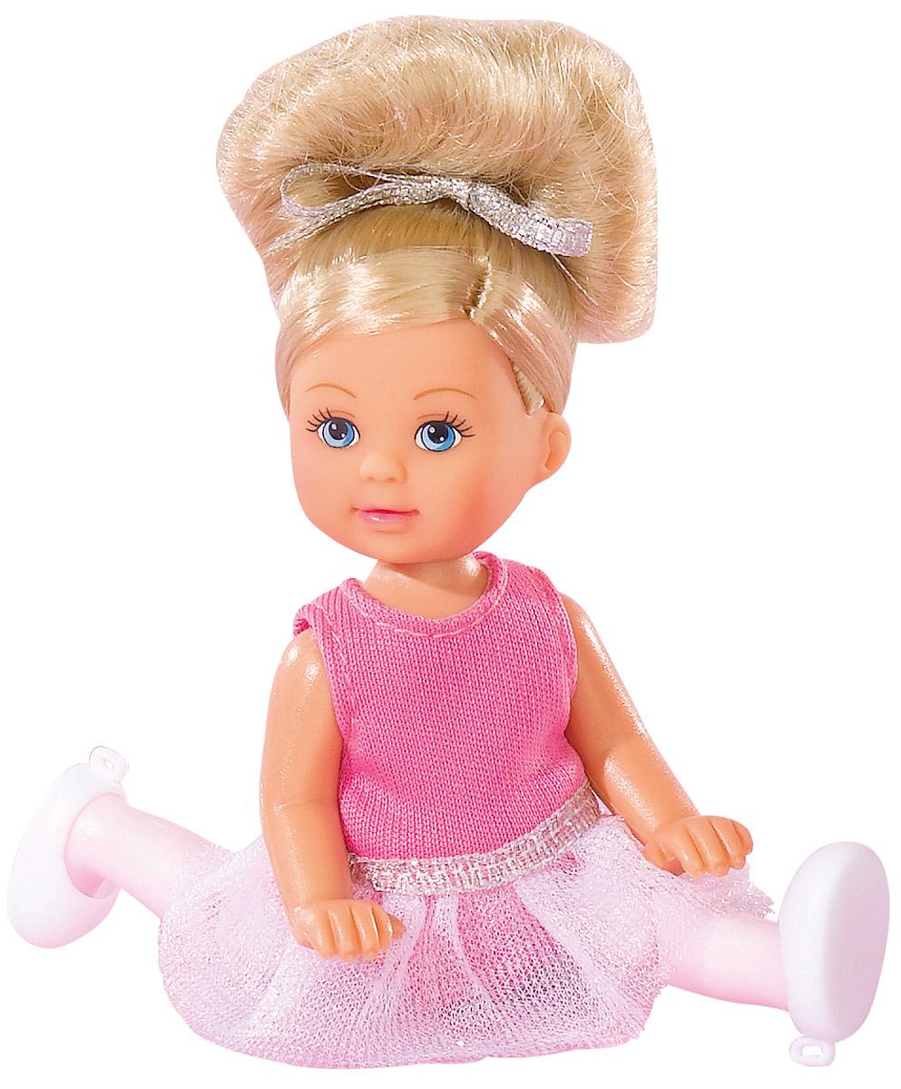 Simba Кукла Еви балерина 12 см цвет белый розовый5730947_белый,розовыйSimba Кукла Еви балерина 12 см цвет белый розовый
