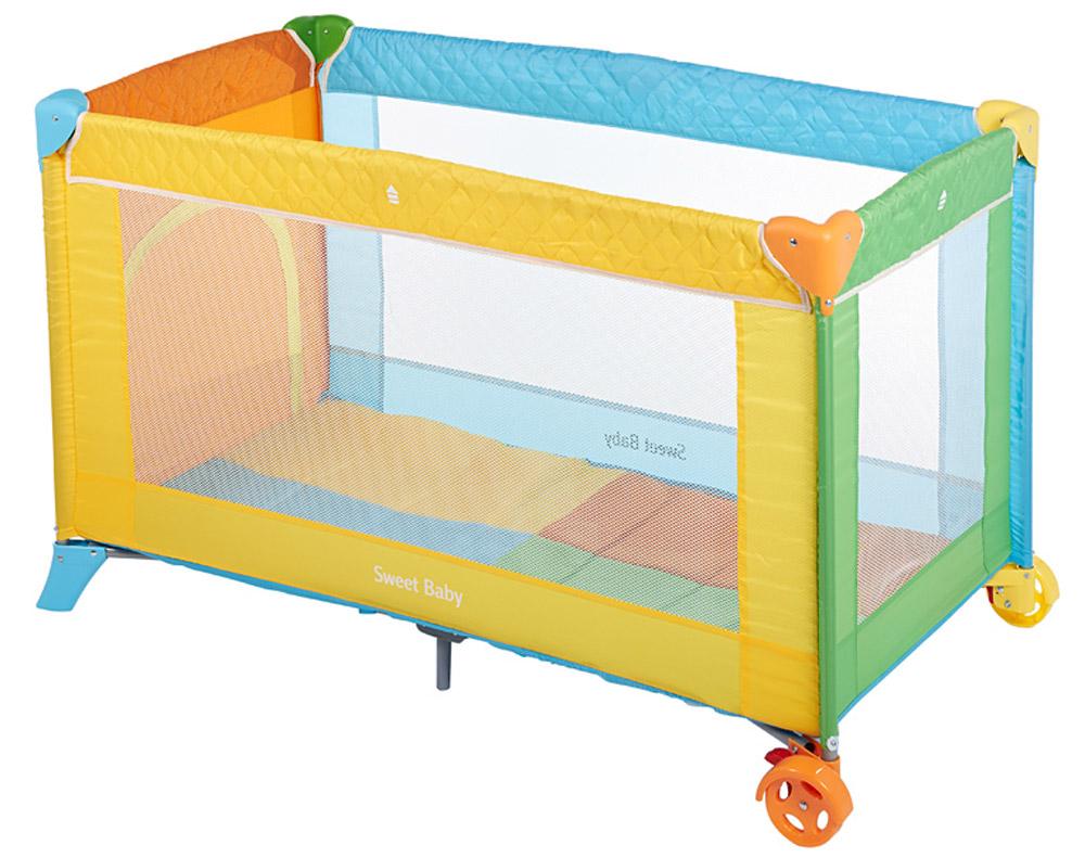 Sweet Baby Манеж-кровать Carnevale Colore