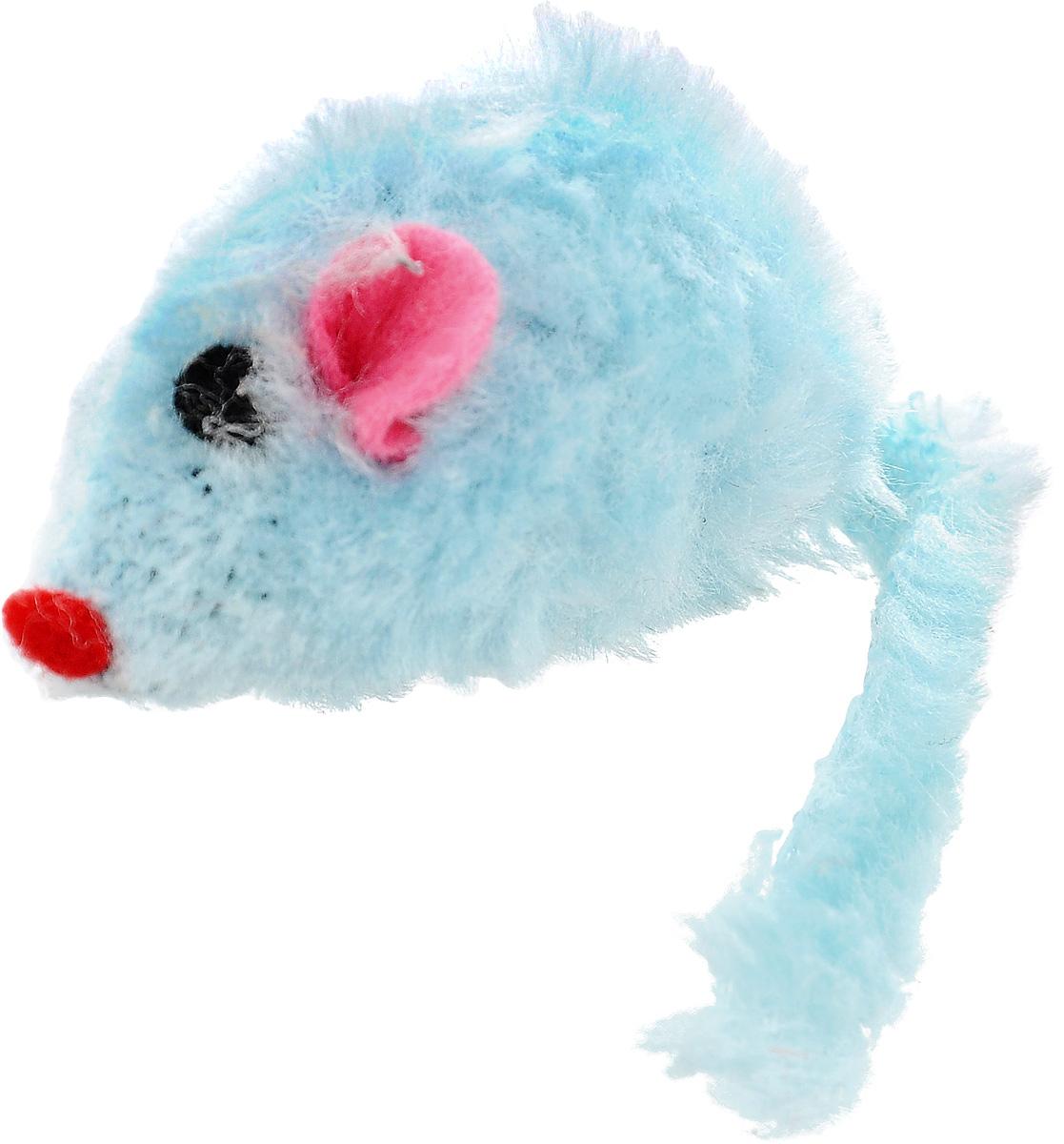 Игрушка для кошек Каскад Мышь, с коротким мехом, цвет: голубой, длина 12,5 см27754633_голубойИгрушка для кошек Каскад Мышь изготовлена из искусственного меха и пластика. Такая игрушка порадует вашего любимца, а вам доставит массу приятных эмоций, ведь наблюдать за игрой всегда интересно и приятно. Общая длина игрушки: 12,5 см.