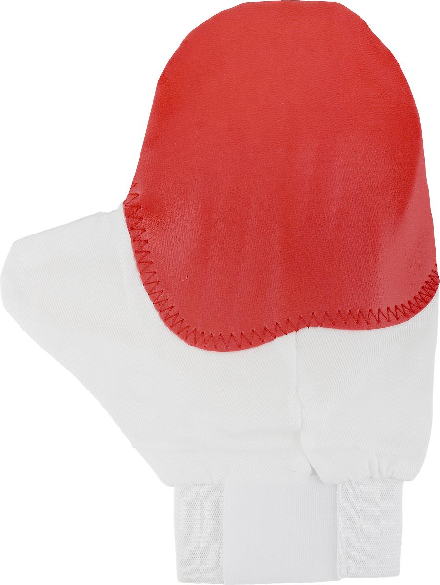 Рукавица для чистки животных Каскад, массажная, с антистатическим эффектом, цвет: красный, белый, желтый17500039_красный, белый, желтыйРукавица Каскад предназначена для чистки шерсти у животных. Она выполнена из хлопчатобумажной ткани и имеет вставку с шипами из резины. Благодаря такой рукавице вы сможете удалить старую шерсть и грязь с вашего питомца. Закругленные кончики шипов мягко и бережно воздействуют на кожу животного, создавая массажный эффект. Манжета рукавицы выполнена из эластичной резинки и фиксируется на руке с помощью липучки. Рукавица Каскад отлично подойдет для повседневного ухода за шерстью вашего домашнего питомца. Размер изделия: 24 х 17,5 см.