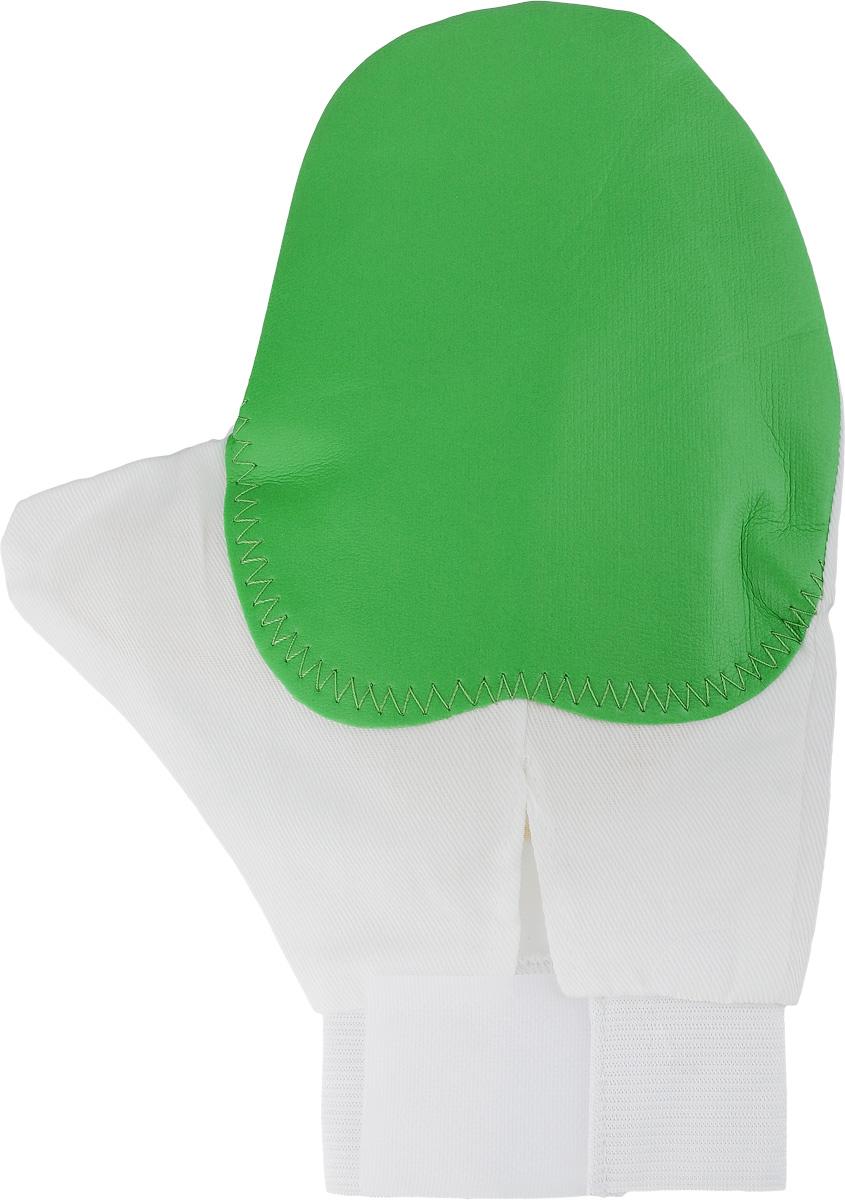 Рукавица для чистки животных Каскад, массажная, с антистатическим эффектом, цвет: зеленый, белый, желтый17500039_зеленый, белый, желтыйРукавица Каскад предназначена для чистки шерсти у животных. Она выполнена из хлопчатобумажной ткани и имеет вставку с шипами из резины. Благодаря такой рукавице вы сможете удалить старую шерсть и грязь с вашего питомца. Закругленные кончики шипов мягко и бережно воздействуют на кожу животного, создавая массажный эффект. Манжета рукавицы выполнена из эластичной резинки и фиксируется на руке с помощью липучки. Рукавица Каскад отлично подойдет для повседневного ухода за шерстью вашего домашнего питомца. Размер изделия: 24 х 17,5 см.