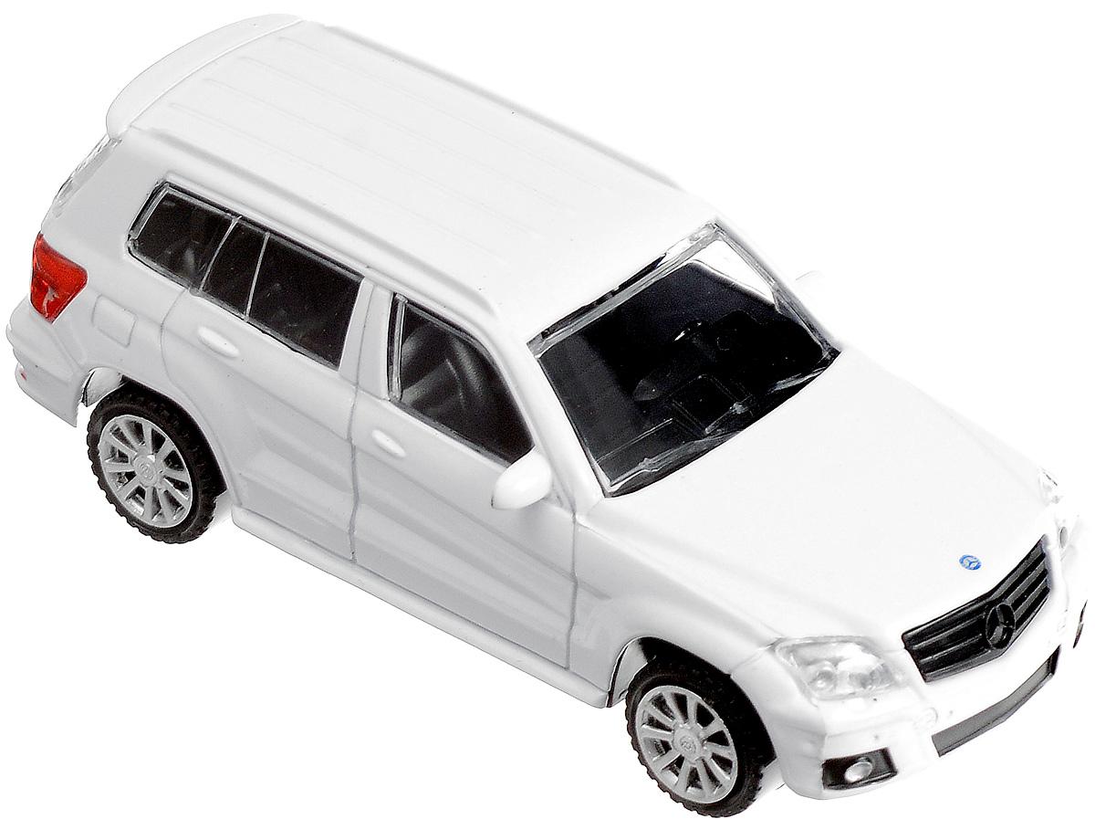 Rastar Модель автомобиля Mercedes-Benz GLK Class цвет белый33900-RASTARМодель автомобиля Rastar Mercedes-Benz GLK Class будет отличным подарком как ребенку, так и взрослому коллекционеру. Благодаря броской внешности, а также великолепной точности, с которой создатели этой модели масштабом 1:43 передали внешний вид настоящего автомобиля, машинка станет подлинным украшением любой коллекции авто. Модель будет долго служить своему владельцу благодаря металлическому корпусу с элементами из пластика. Колеса машинки оснащены свободным ходом. Модель автомобиля Rastar Mercedes-Benz GLK Class обязательно понравится вашему ребенку и станет достойным экспонатом любой коллекции.