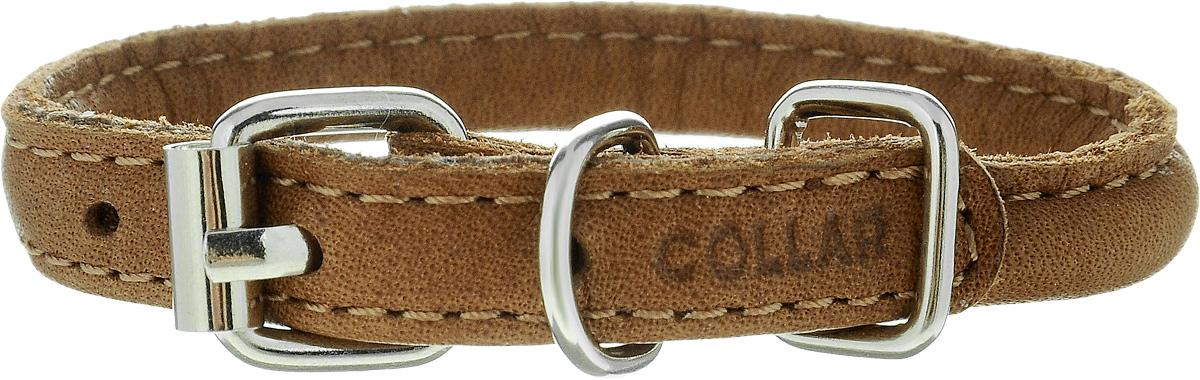Ошейник для собак CoLLaR SOFT, цвет: коричневый, диаметр 6 мм, обхват шеи 17-20 см22306Ошейник для собак CoLLaR SOFT, выполненный из натуральной кожи, устойчив к влажности и перепадам температур. Крепкие металлические элементы делают ошейник надежным и долговечным. Изделие отличается высоким качеством, удобством и универсальностью. Размер ошейника регулируется при помощи пряжки, зафиксированной на одном из 3 отверстий. Минимальный обхват шеи: 17 см. Максимальный обхват шеи: 20 см. Диаметр ошейника: 6 мм.