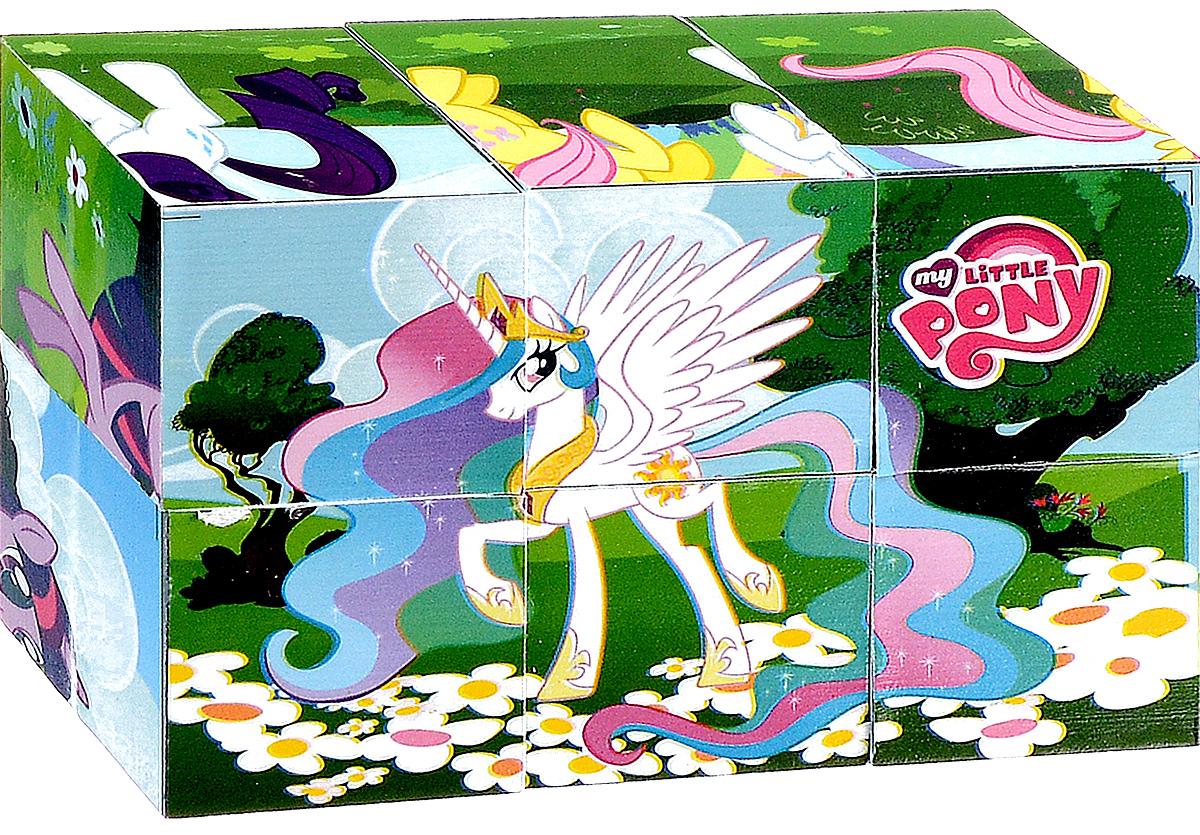 Играем вместе Кубики My Little Pony 0110601106С помощью шести кубиков Играем вместе My Little Pony ребенок сможет собрать целых шесть красочных картинок с изображением сюжетов из любимого мультфильма. Кубики - самая популярная и самая необходимая игрушка для малыша. Игра с кубиками развивает зрительное восприятие, наблюдательность и внимание, мелкую моторику рук и произвольные движения. Ребенок научится складывать целостный образ из частей, определять недостающие детали изображения. Это прекрасный комплект для развлечения и времяпрепровождения с пользой для малыша.