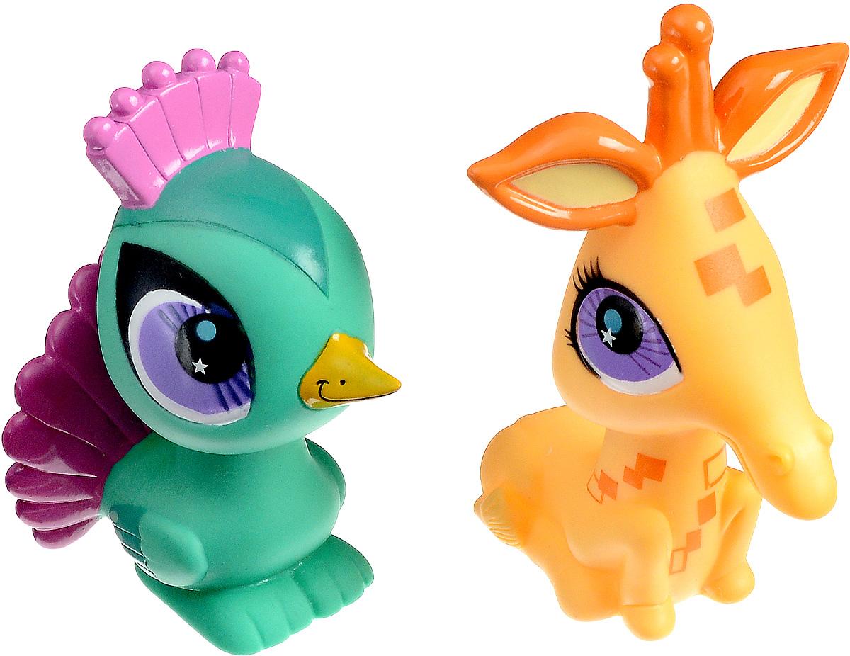 Играем вместе Набор игрушек для ванной Littlest Pet Shop Павлин и жираф167R-PVC_Павлин и ЖирафНабор игрушек для ванной Играем вместе Littlest Pet Shop. Павлин и жираф обязательно понравится вашему малышу и превратит купание в веселый и увлекательный процесс. Игрушки выполнены в виде двух забавных животных. При нажатии на игрушки раздается громкий писк. Игрушки брызгают водой. Игрушки для ванной способствуют развитию внимательности, мелкой моторики рук, воображения, зрительного восприятия.