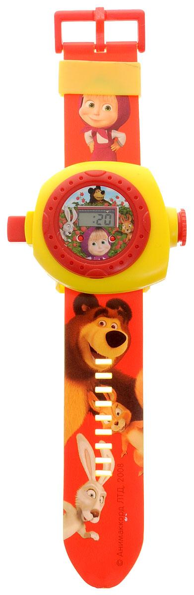 Умка Часы Маша и Медведь с проекцией