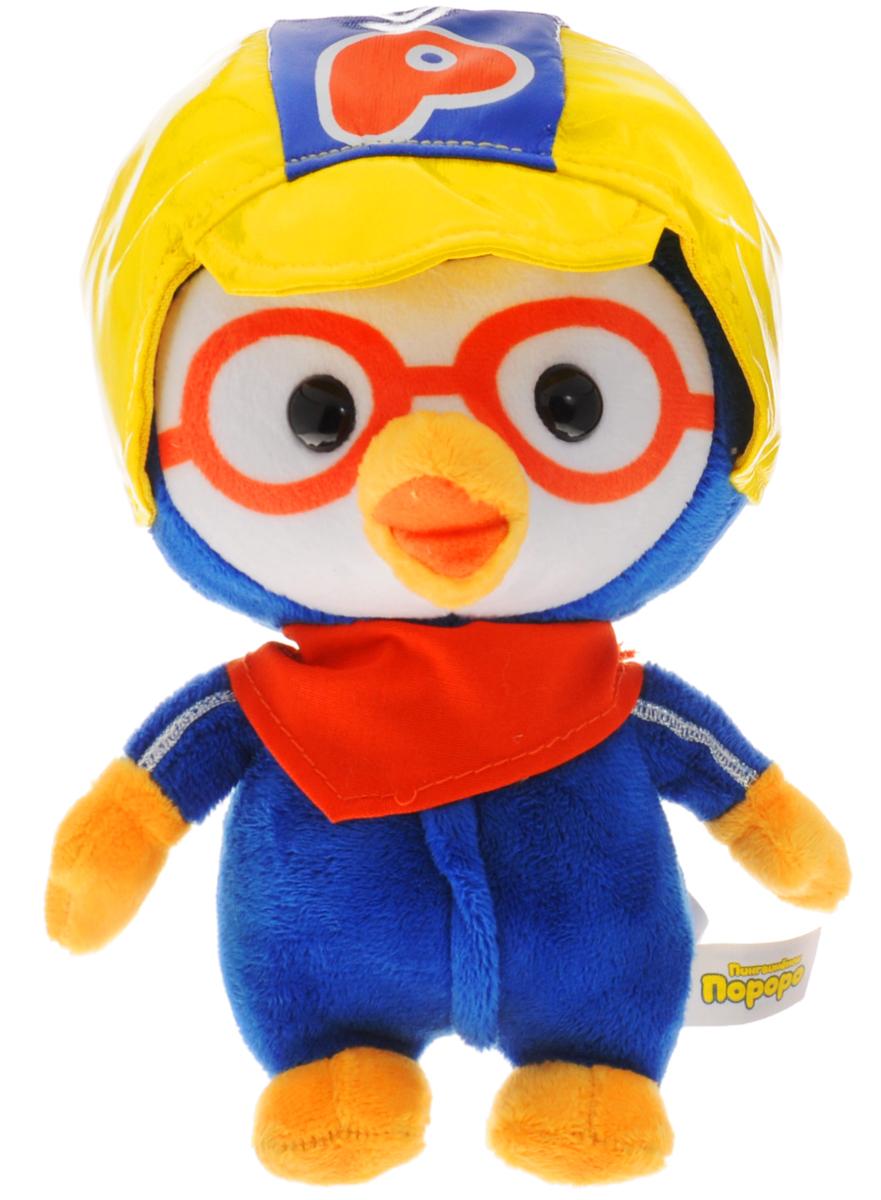 Мульти-Пульти Мягкая озвученная игрушка Пингвиненок Пороро 18 смV92258/18Мягкая озвученная игрушка Мульти-Пульти Пингвиненок Пороро станет поистине незабываемым подарком для каждого ребенка. Мягкая игрушка ассоциируется с радостью и весельем. Забавная, добрая игрушка будет радовать малыша с самого рождения. Игрушка выполнена в виде очаровательного пингвина из мультфильма Пингвиненок Пороро. Любознательный и непоседливый Пороро одет весьма мило: на голове у него шапочка, на шее повязан платок, а тельце красуется в комбинезоне. Нажав пингвиненку на живот, вы услышите знаменитые фразы из этого мультфильма. Мягкие игрушки помогают познавать окружающий мир через тактильные ощущения, знакомят с животным миром нашей планеты, формируют цветовосприятие и способствуют концентрации внимания. Работает от незаменяемых батареек.