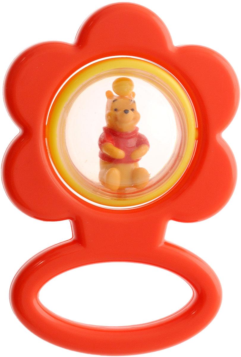 Умка Погремушка Цветок Винни-пухV02-RПогремушка Цветок. Винни-пух выполнена из прочного безопасного материала, окрашена с помощью пищевых красителей и прошла тщательный контроль качества, чтобы в нее могли играть даже самые маленькие дети. Эта милая детская погремушка имеет форму цветка, внутри которого находится фигурка Винни-Пуха. Игрушка приятная на ощупь и имеет удобную ручку. Если потрясти игрушку, то шарики внутри нее начнут весело греметь, а фигурка будет крутиться. Погремушка обязательно привлечет внимание ребенка, а приятные материалы, из которых изготовлена игрушка, и издаваемые ей звуки побудят его изучать, исследовать и развиваться. Погремушка способствует развитию слуха и мелкой моторики.