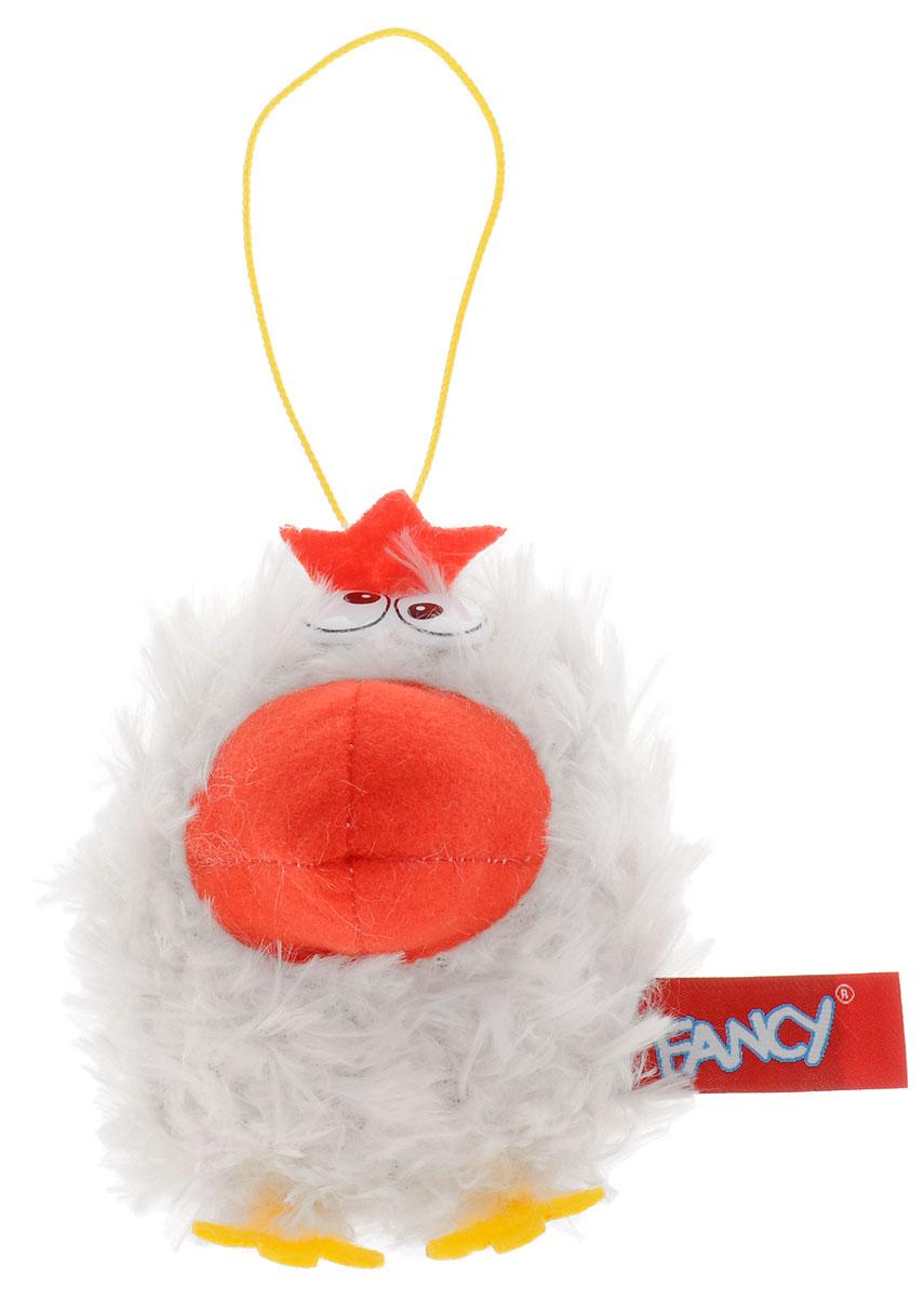 Fancy Мягкая игрушка Курочка 10 см цвет белыйKPAU0_белыйОчаровательная мягкая игрушка Fancy Курочка, выполненная в виде забавной курочки с большим клювом, вызовет умиление и улыбку у каждого, кто ее увидит. Удивительно мягкая игрушка принесет радость и подарит своему обладателю мгновения нежных объятий и приятных воспоминаний. Благодаря пришитой петельке, игрушку можно подвесить или даже использовать в качестве брелока. Забавный внешний вид и великолепное качество исполнения делают эту игрушку чудесным подарком к любому празднику.