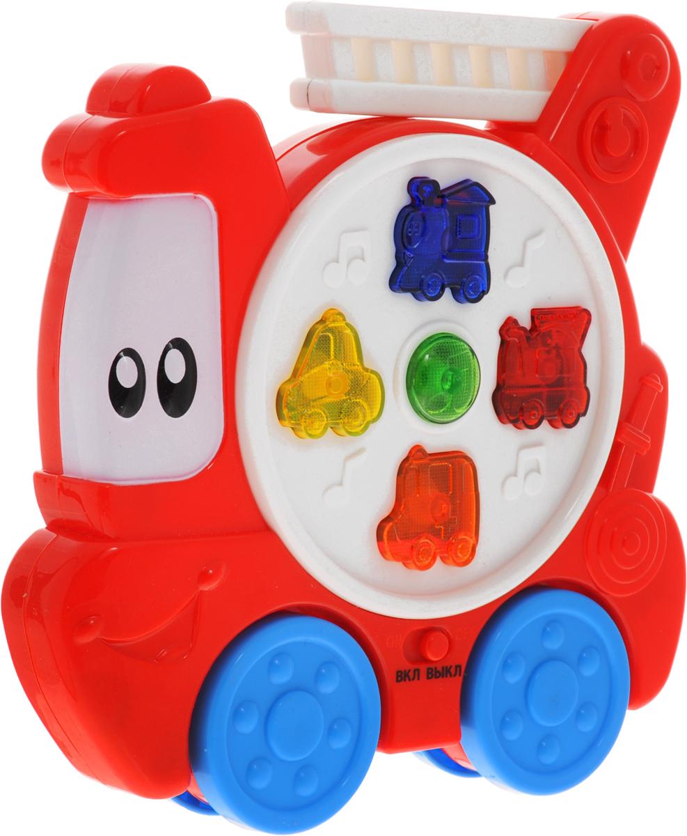 Умка Игрушка озвученная Пожарная машинка