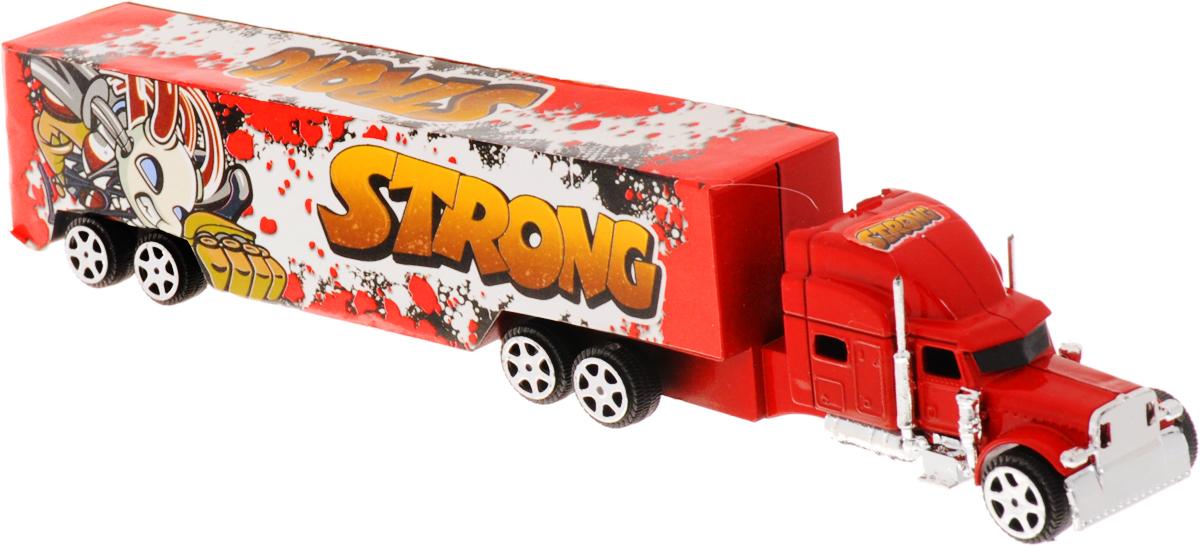 Junfa Toys Грузовик инерционный Hercules1078_красныйИнерционный грузовик Junfa Toys Hercules станет прекрасным подарком для вашего малыша. Игрушка выполнена из прочного пластика в виде мощного грузовика. Машина оснащена инерционным механизмом. Достаточно немного отвести машинку назад, а затем отпустить, и она самостоятельно поедет вперед. Малыш проведет с этой игрушкой много увлекательных часов, разыгрывая различные ситуации. Ваш ребенок будет в восторге от такого подарка!