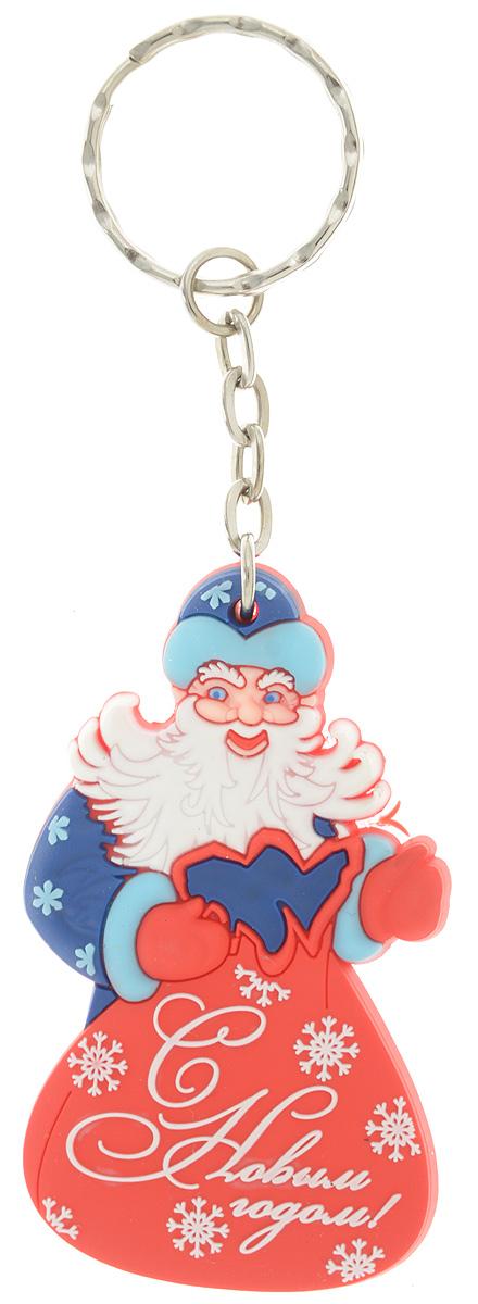 Брелок новогодний Lillo Дед Мороз с мешкомБРБрелок Lillo Дед Мороз с мешком станет прекрасным новогодним сувениром и обязательно порадует получателя. Декоративная часть выполнена из ПВХ. Брелок снабжен металлическим кольцом для ключей. Брелок Lillo Дед Мороз с мешком - сувенир в полном смысле этого слова. В переводе с французского souvenir означает воспоминание. И главная задача любого сувенира - хранить воспоминание о месте, где вы побывали, или о том человеке, который подарил данный предмет. Размер брелока (без учета кольца): 3,8 х 0,5 х 6,4 см. Высота брелока (с учетом кольца): 11,4 см.