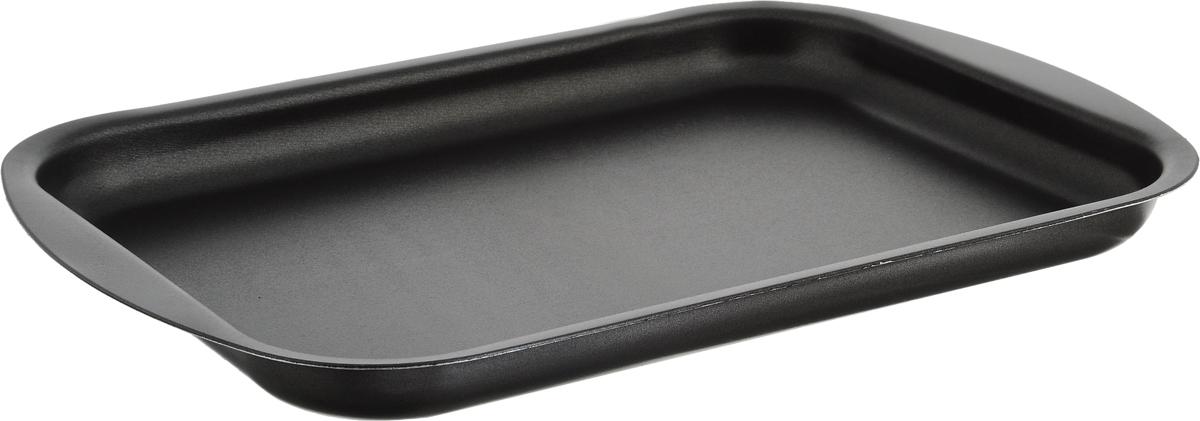 Противень для выпечки печенья Scovo Discovery, с антипригарным покрытием, цвет: серый, 34 х 23,8 х 2,6 смСД-052Противень для выпечки печенья Scovo Discovery выполнен из высококачественного алюминия с антипригарным покрытием. Технология антипригарного покрытия способствует оптимальному распределению тепла. Противень легко чистить и мыть. Можно использовать в духовом шкафу и мыть в посудомоечной машине. Внешний размер противня: 34 х 23,8 х 2,6 см. Внутренний размер противня: 29,5 см х 21,5 см.