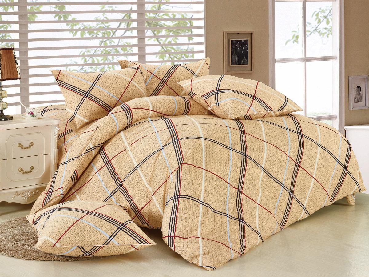 Комплект белья Cleo Люксор, 1,5-спальный, наволочки 70x7015/014-BLКомплект постельного белья Cleo выполнен из высококачественной бязи люкс (100% хлопок), которая идеально подходит для любого времени года Постельное белье из бязи имеет ряд уникальных свойств: экологичность, гипоаллергенность, сохраняет внешний вид на долгие годы, не садится, легко гладится, не накапливает статического электричества, обладает исключительной терморегуляцией, загрязнения прекрасно отстирываются любыми средствами. Благодаря особому способу переплетения нитей в полотне, обеспечивается особая плотность ткани, что делает ее устойчивой к износу. Высокая плотность - это залог прочности и долговечности, однако она не влияет на удовольствие от прикосновения. Благодаря пигментному способу нанесения печати даже после многократных стирок в деликатном режиме постельное белье сохраняет свой первоначальный вид. Такое постельное белье окутает вас своей нежностью и подарит спокойный комфортный сон, а яркие оригинальные дизайны стильно дополнят...