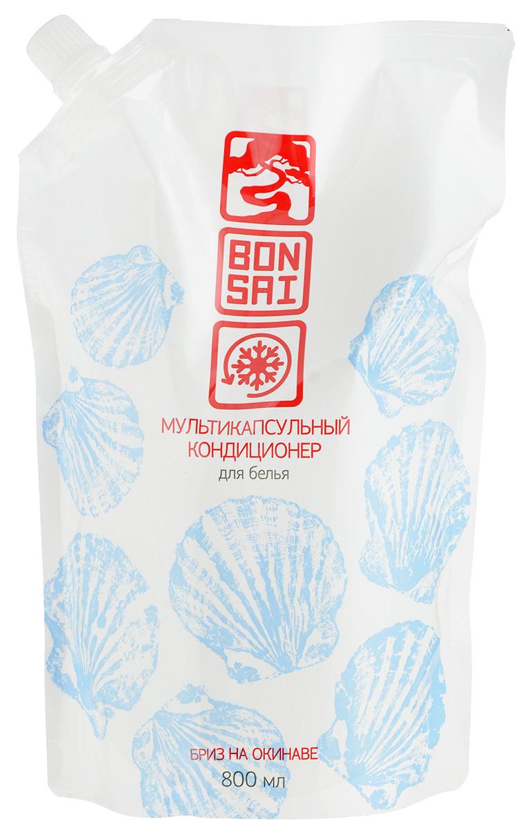 """Кондиционер для белья Bonsai """"Бриз на Окинаве"""", мультикапсульный, 800 мл 420617"""