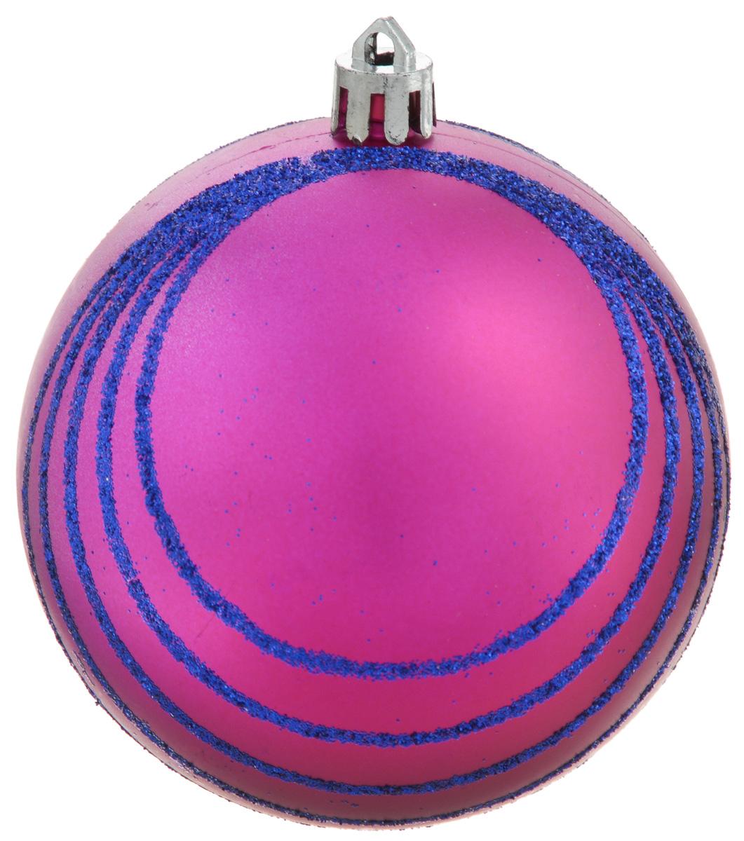 Украшение новогоднее подвесное Winter Wings Шар. Полоски, диаметр 8 смN181834Украшение новогоднее подвесное Winter Wings Шар. Полоски прекрасно подойдет для праздничного декора новогодней ели. Изделие выполнено из пластика и декорировано полосками из блесток. Для удобного размещения на елке предусмотрено отверстие для текстильной веревочки. Елочная игрушка - символ Нового года. Она несет в себе волшебство и красоту праздника. Создайте в своем доме атмосферу веселья и радости, украшая новогоднюю елку нарядными игрушками, которые будут из года в год накапливать теплоту воспоминаний.