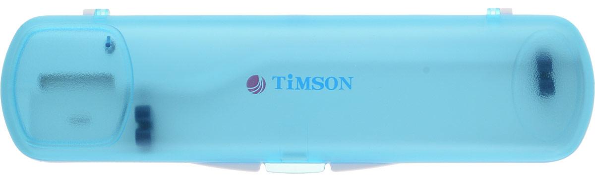 Ультрафиолетовый стерилизатор для зубной щетки Timson ТО-01-27, цвет: голубойTО-01-276_голубой