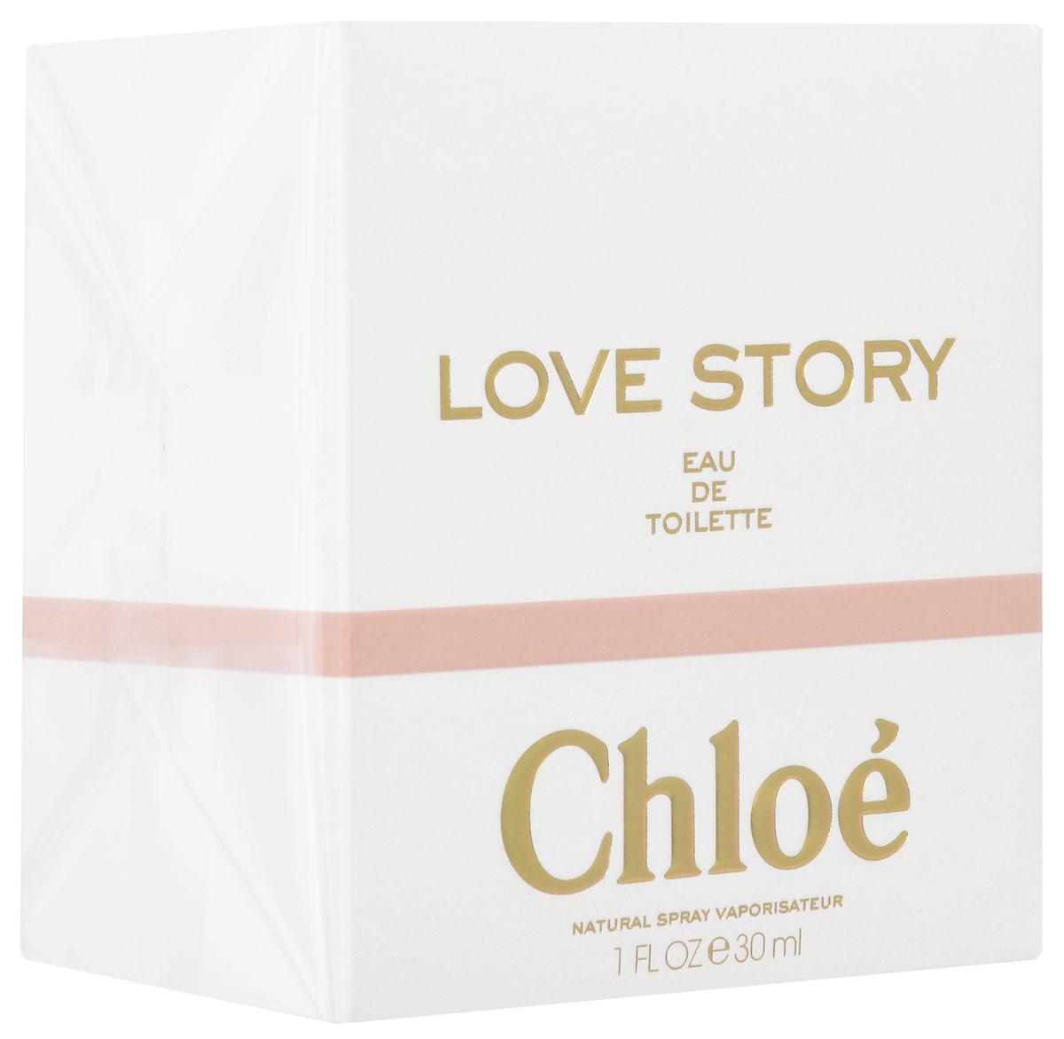 Chloe Love Story Туалетная вода женская 30 мл64990440000Новинка от модного французкого дома Chloe - это современная история обольщения. Аромат свободной женщины в стиле Chloe . Элегантный свежий цветочный зеленый аромат, который раскрывает тонкий букет растений. Верхние ноты: цветок апельсинового дерева Ноты