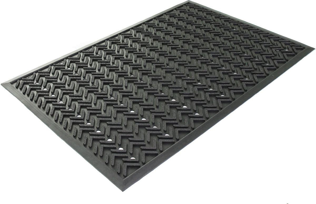 """Коврик """"Sindbad"""", напольный, цвет: черный, 60 х 90 см. 2005"""