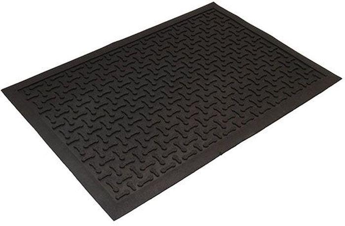 Коврик Sindbad, напольный, цвет: черный, 40 х 60 см. 20602060Коврик Sindbad изготовлен из прочной резины высокого качества. Коврик легко моется водой. Изделие не меняет цвет со временем, не гниет, что гарантирует долгий срок службы. Эффективно очищает обувь от сильных загрязнений. Коврик обладает противоскользящим эффектом. Изделие прекрасно защищает от песка, грязи и пыли.