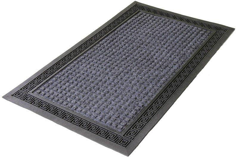 Коврик Sindbad, напольный, цвет: мультиколор, 45 х 75 см. 40074007Коврик придверный 4007 изготовлен из резины с покрытием из прессованного полипропилена. Прост в обслуживании и эксплуатации. Прекрасно защищает от грязи и пыли, а также препятствует скольжению.