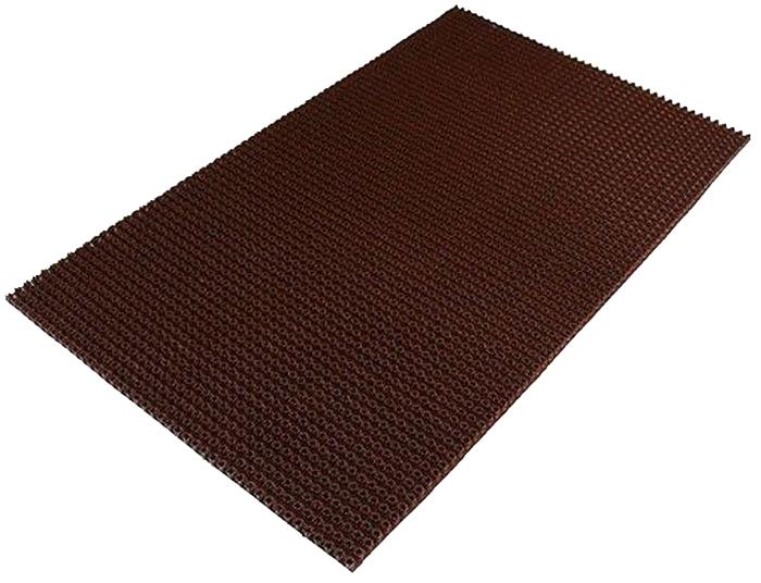 Коврик Sindbad, напольный, цвет: коричневый, 45 х 75 см. 702702Коврик Sindbad изготовлен из прочного полиэтилена и имеет щетинистую поверхность. Коврик легко моется водой. Изделие не меняет цвет со временем, не гниет, что гарантирует долгий срок службы. Эффективно очищает обувь от сильных загрязнений. Коврик обладает противоскользящим эффектом. Изделие прекрасно защищает от песка, грязи и пыли.