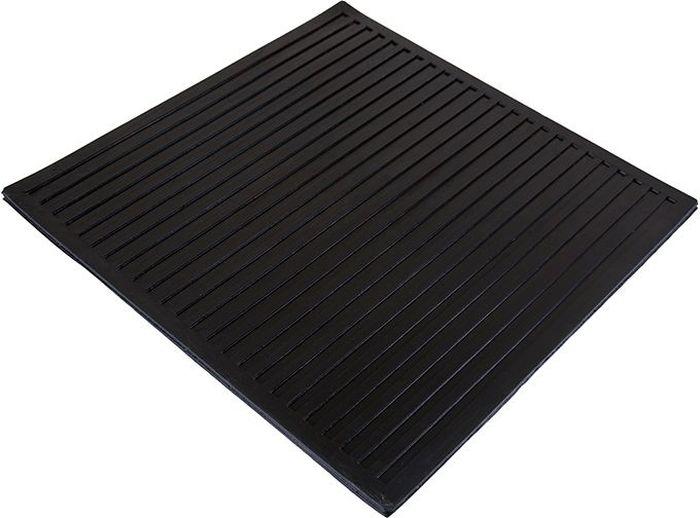 Коврик Sindbad, диэлектрический, цвет: черный, 50 х 50 см. D50D50Коврик диэлектрический изготовлен из высококачественного сырья. Не прихотлив в эксплуатации. Является одним из дополнительных средств электрозащиты и применяются как в открытых электроустановках в сухую погоду, так и в электроустановках закрытого типа.