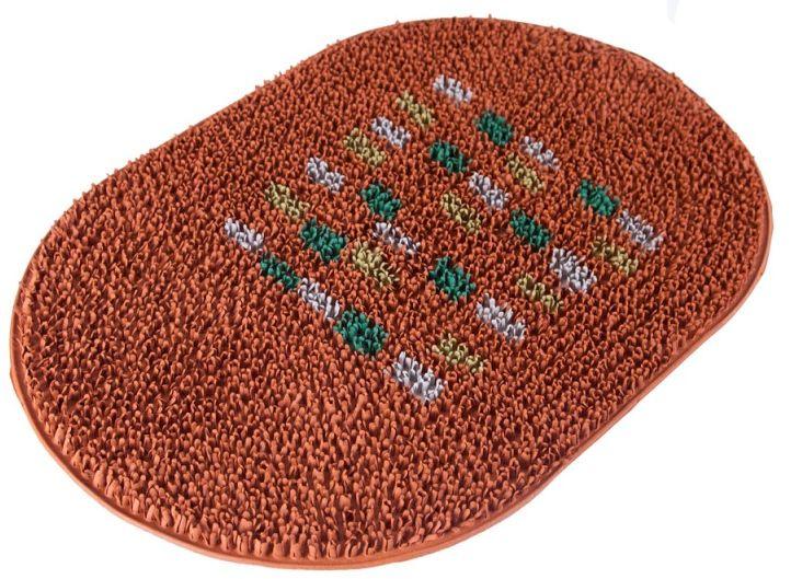Коврик Sindbad, напольный, цвет: оранжевый, 40 х 60 см. FRG 05TFRG 05TКоврик Sindbad изготовлен из прочной резины высокого качества. Коврик легко моется водой. Изделие не меняет цвет со временем, не гниет, что гарантирует долгий срок службы. Эффективно очищает обувь от сильных загрязнений. Коврик обладает противоскользящим эффектом. Изделие прекрасно защищает от песка, грязи и пыли.