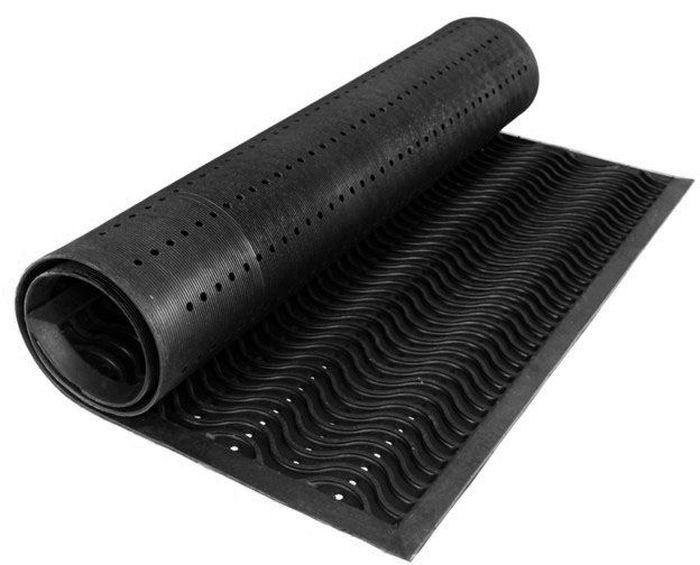 Коврик Sindbad, напольный, цвет: черный, 60 х 90 см. FHA 05FHA 05Коврик Sindbad изготовлен из прочной резины высокого качества. Коврик легко моется водой. Изделие не меняет цвет со временем, не гниет, что гарантирует долгий срок службы. Эффективно очищает обувь от сильных загрязнений. Коврик обладает противоскользящим эффектом. Изделие прекрасно защищает от песка, грязи и пыли.